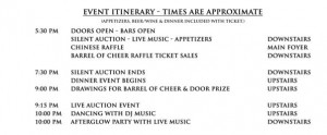 event-itinerary